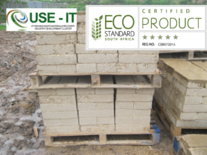 Use-It-Compressed earth brick